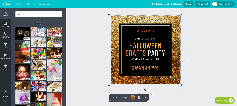 jak w aplikacji Canva stworzyć darmowy projekt zaproszenia bez programów graficznych
