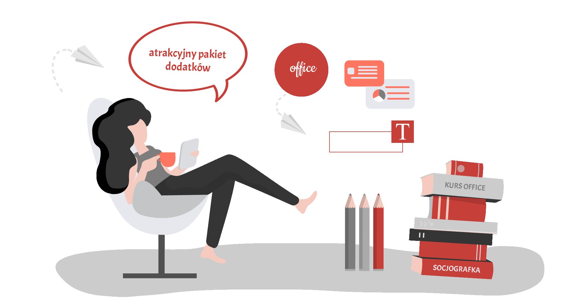 naucz się projektować materiały marketingowe kurs office
